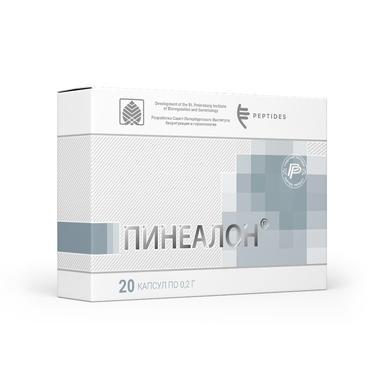 Пинеалон 60 капсул Биорегулятор нормализации функциональной активности клеток головного мозга